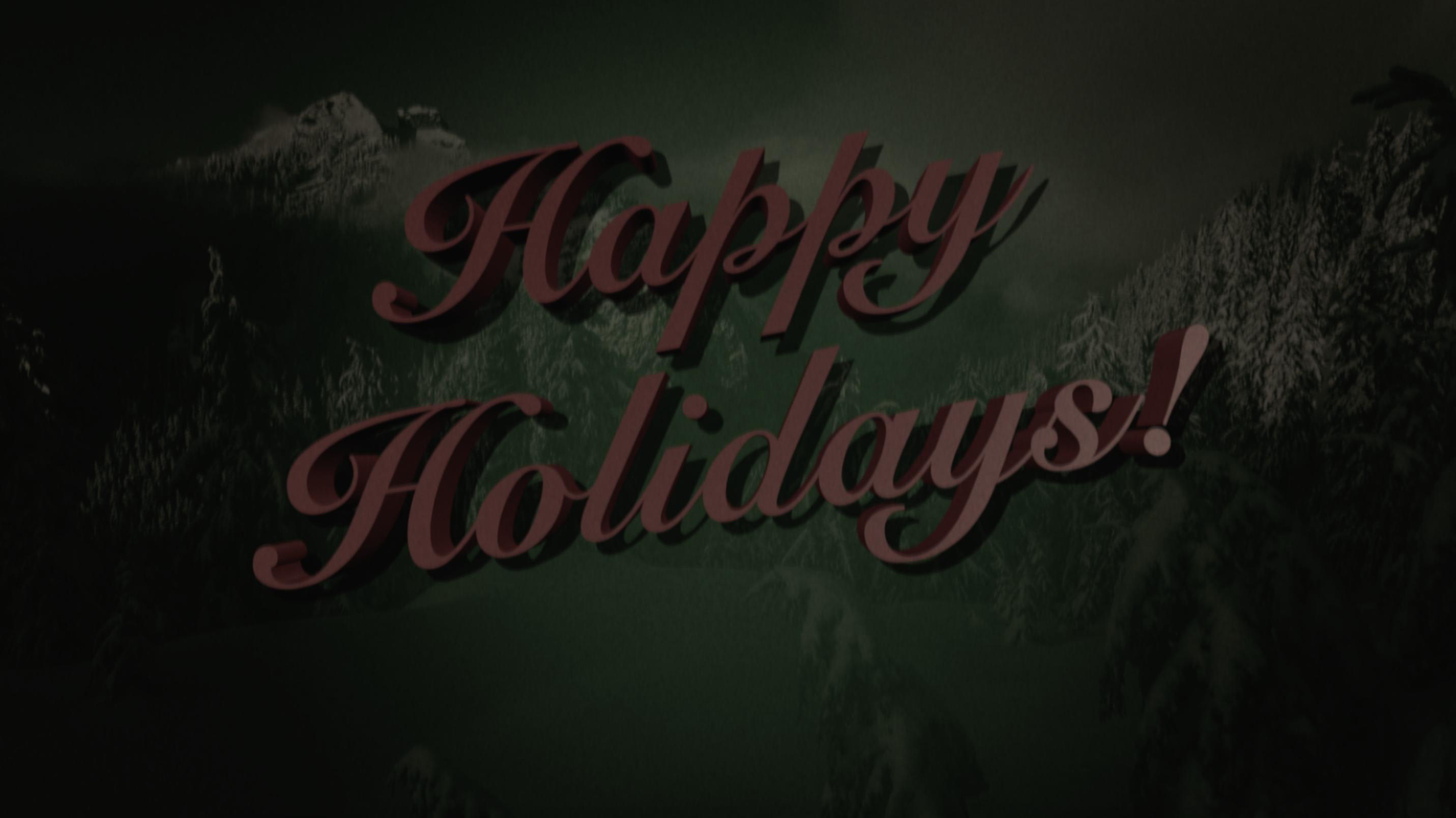Happy Holidays 2020 - Thumbnail