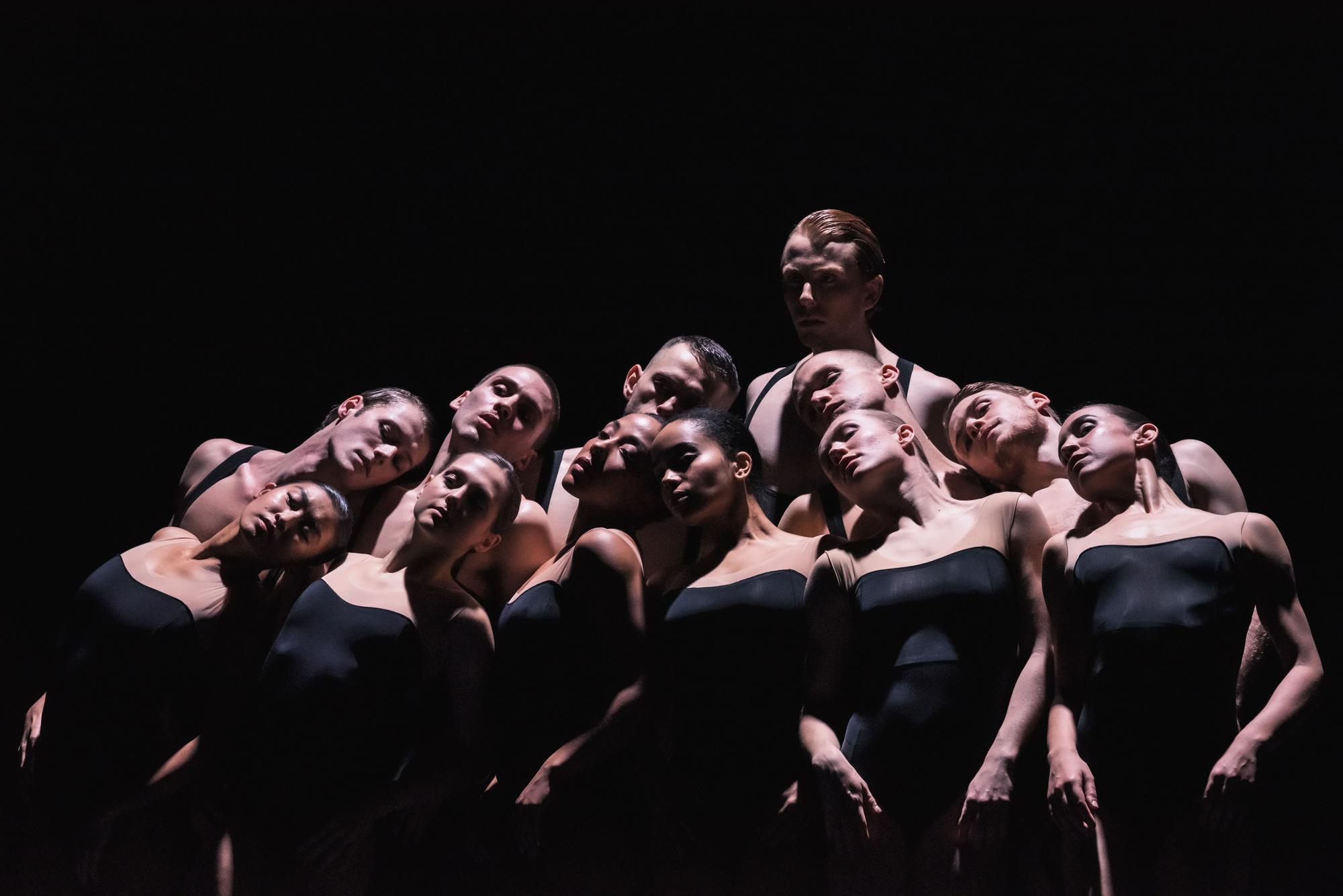 Artists of Ballet BC in Bedroom Folk, Sharon Eyal & Gai Behar. Image by Four Eyes Portraits.