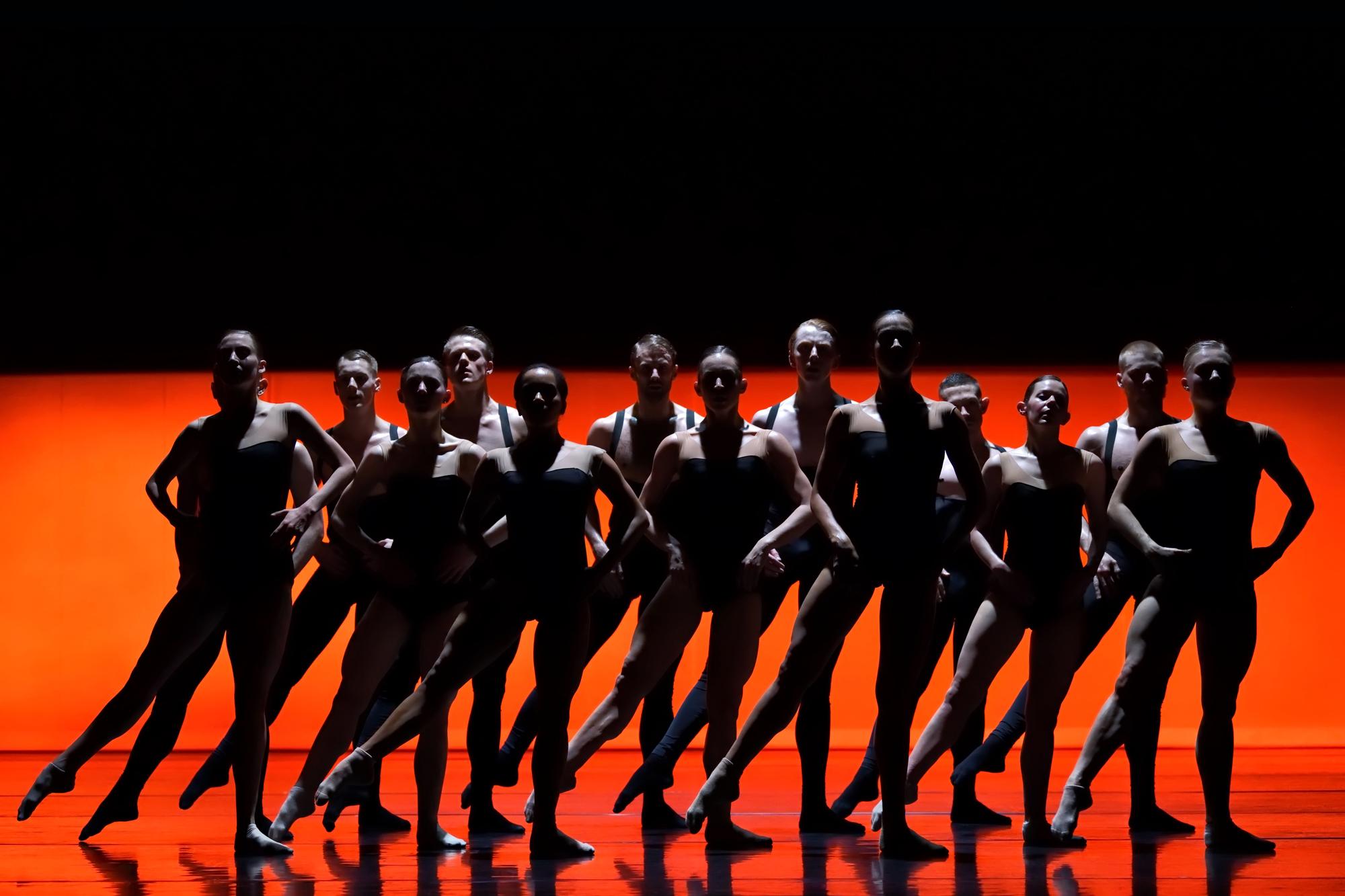 Artists of Ballet BC in 'Bedroom Folk' dress photo©Michael Slobodian