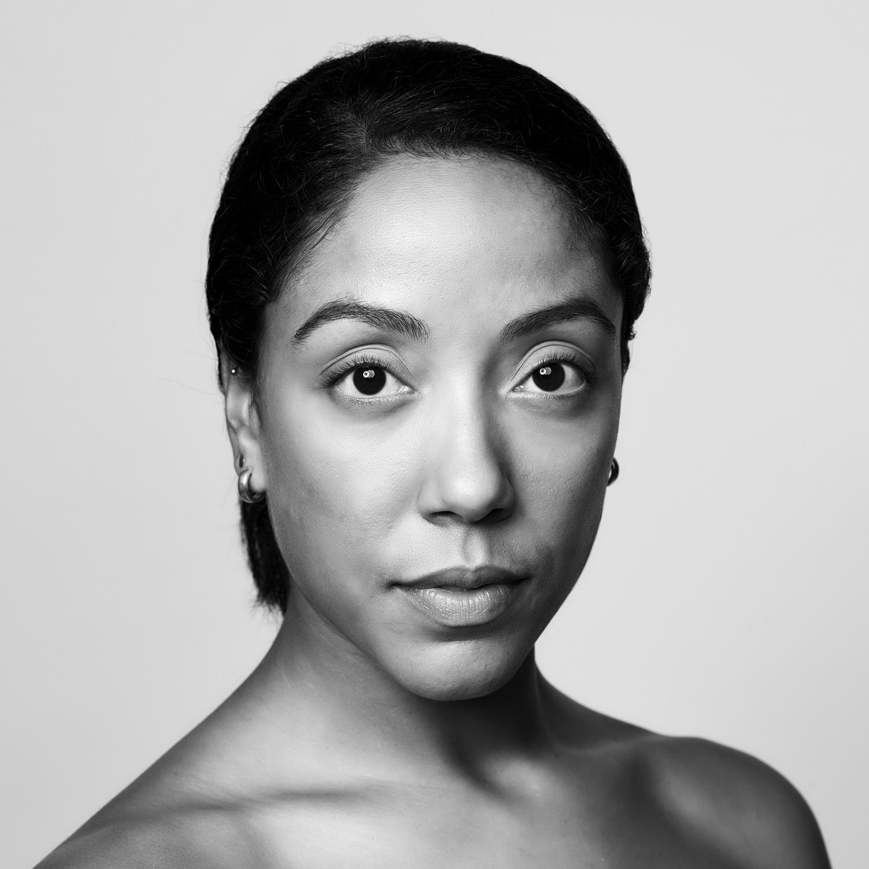 Greyscale headshot of Livona Ellis.
